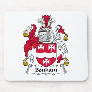 Escudo de la familia de Bonham Alfombrillas De Raton