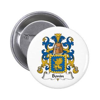 Escudo de la familia de Bonin Pins