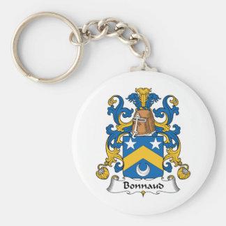 Escudo de la familia de Bonnaud Llavero Personalizado