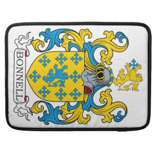 Escudo de la familia de Bonnell Funda Para Macbook Pro