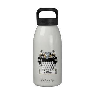 Escudo de la familia de Bonner Botella De Agua Reutilizable