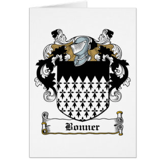 Escudo de la familia de Bonner Felicitacion