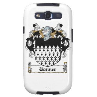 Escudo de la familia de Bonner Galaxy S3 Carcasa