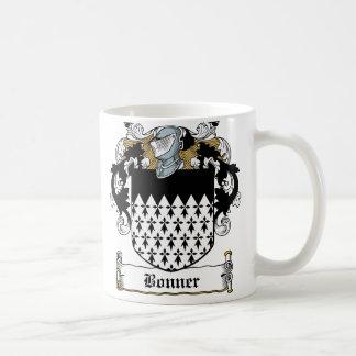 Escudo de la familia de Bonner Taza De Café