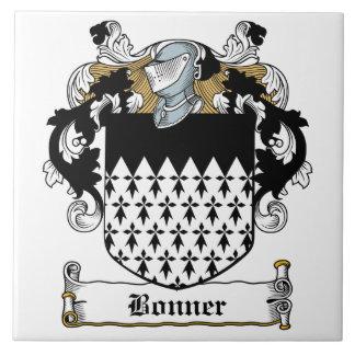 Escudo de la familia de Bonner Tejas Ceramicas
