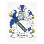 Escudo de la familia de Bonney Invitacion Personal