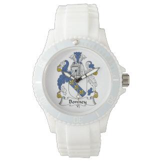 Escudo de la familia de Bonney Reloj De Mano