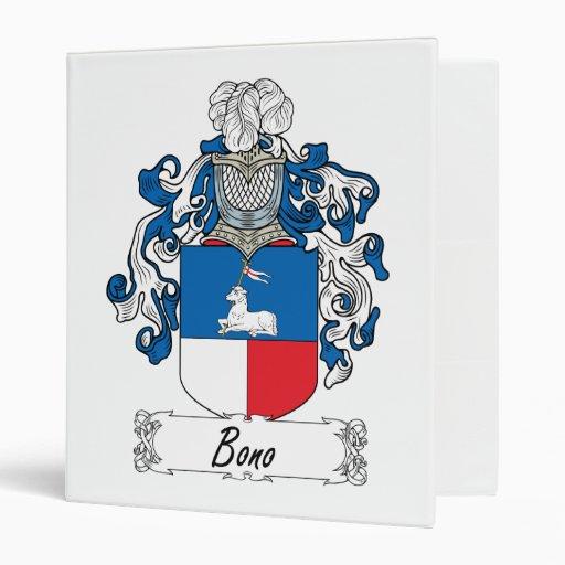 """Escudo de la familia de Bono Carpeta 1"""""""