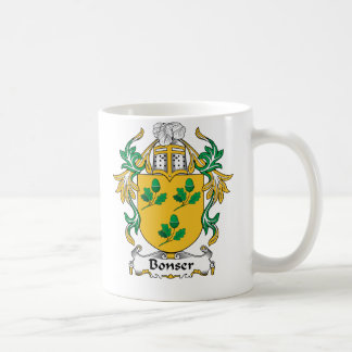 Escudo de la familia de Bonser Tazas