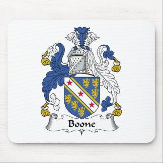 Escudo de la familia de Boone Tapete De Ratones