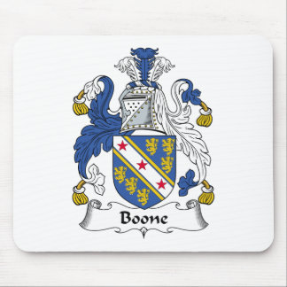 Escudo de la familia de Boone Tapetes De Raton