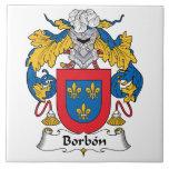 Escudo de la familia de Borbon Tejas Ceramicas