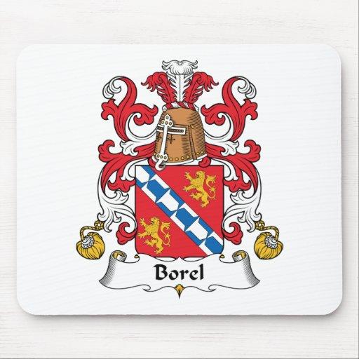 Escudo de la familia de Borel Mousepads