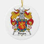 Escudo de la familia de Borges Adorno Para Reyes