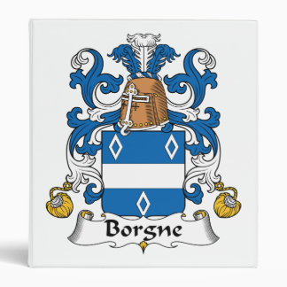 """Escudo de la familia de Borgne Carpeta 1"""""""