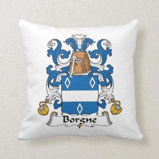 Escudo de la familia de Borgne Cojín