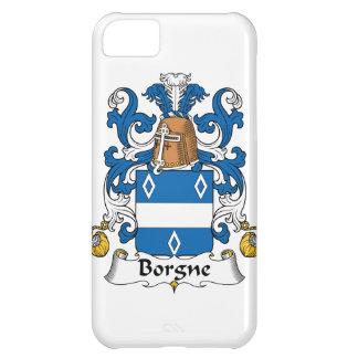 Escudo de la familia de Borgne Funda Para iPhone 5C