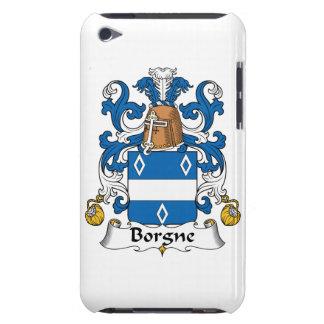 Escudo de la familia de Borgne Case-Mate iPod Touch Coberturas