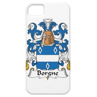 Escudo de la familia de Borgne iPhone 5 Funda