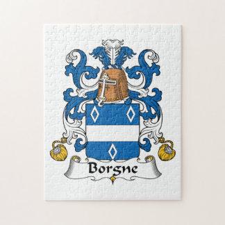 Escudo de la familia de Borgne Rompecabezas