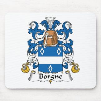 Escudo de la familia de Borgne Tapetes De Raton