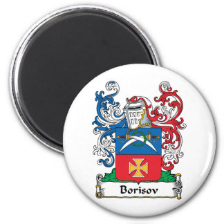Escudo de la familia de Borisov Imán Redondo 5 Cm