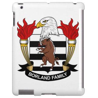 Escudo de la familia de Borland Funda Para iPad