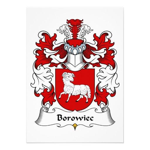 Escudo de la familia de Borowiec Comunicados