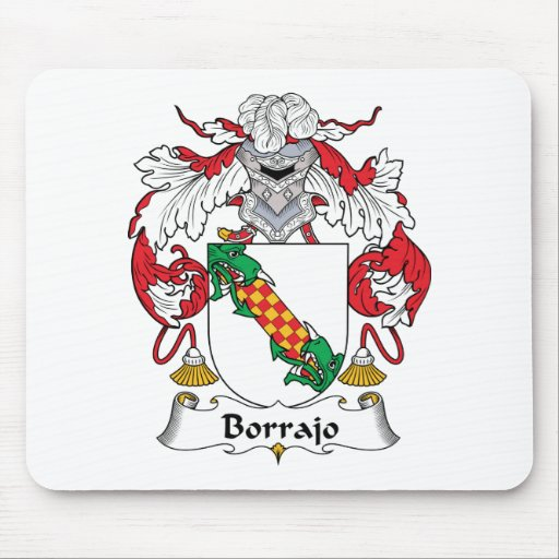 Escudo de la familia de Borrajo Alfombrilla De Ratón