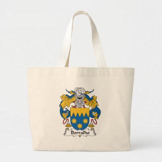 Escudo de la familia de Borralho Bolsas De Mano