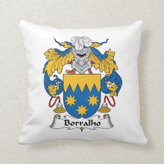Escudo de la familia de Borralho Cojines