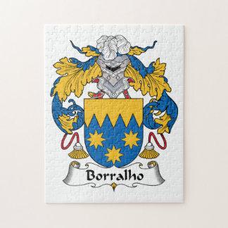 Escudo de la familia de Borralho Rompecabezas Con Fotos