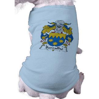 Escudo de la familia de Borralho Camisa De Perro