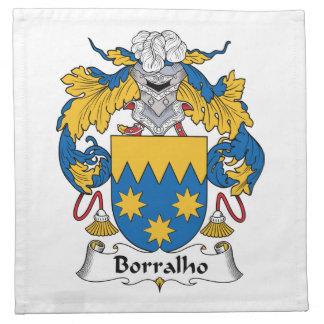 Escudo de la familia de Borralho Servilleta De Papel