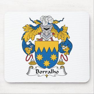 Escudo de la familia de Borralho Alfombrillas De Ratones