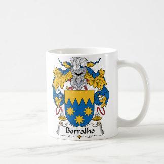 Escudo de la familia de Borralho Taza De Café