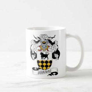 Escudo de la familia de Borras Tazas De Café