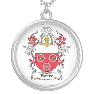 Escudo de la familia de Borre Colgante Redondo
