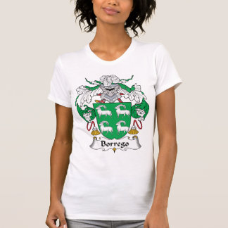 Escudo de la familia de Borrego Camisetas