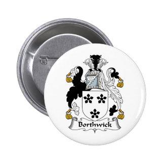 Escudo de la familia de Borthwick Pins