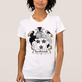 Escudo de la familia de Borthwick Camisetas