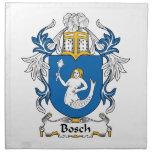 Escudo de la familia de Bosch Servilleta De Papel