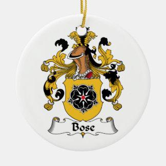 Escudo de la familia de Bose Adorno De Reyes