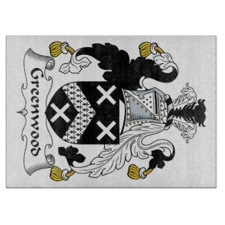 Escudo de la familia de Bosque verde Tablas De Cortar