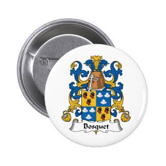 Escudo de la familia de Bosquet Pin