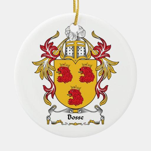 Escudo de la familia de Bosse Ornamentos De Reyes Magos