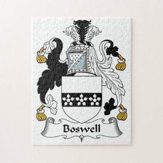 Escudo de la familia de Boswell Rompecabezas