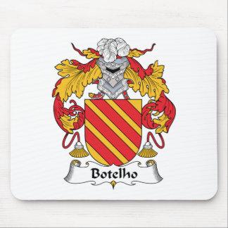 Escudo de la familia de Botelho Alfombrilla De Ratón