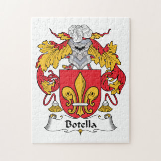 Escudo de la familia de Botella Rompecabeza Con Fotos