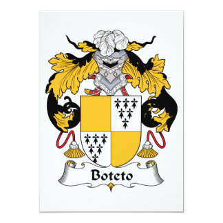 Escudo de la familia de Boteto Comunicado Personal